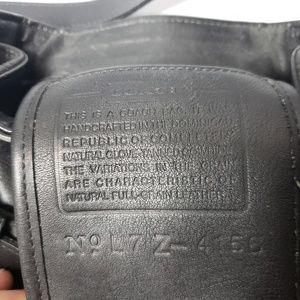 Coach Bags - Vintage Coach Black Leather Crossbody Bag